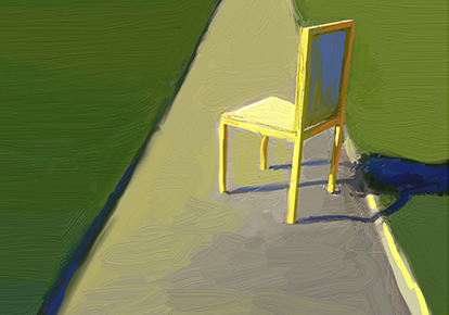 Andrew Faulkner | CHAIR PAINTING I