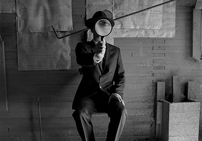Rodney Smith | COLLIN WITH MAGNIFYING GLASS, ALBERTA, CANADA, 2004